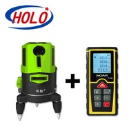 The Newest product, laser distance meter and laser level 360 integration, Green beam laser level