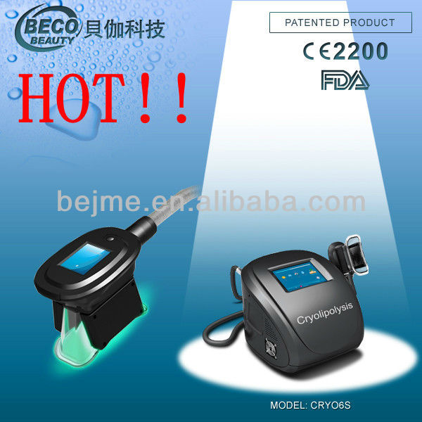 HOT!! BECO best portable cryolipolysis cellulite reduction machine CRYO6S