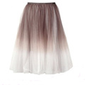 New arrival long casual tulle skirt women fashion maxi skirt
