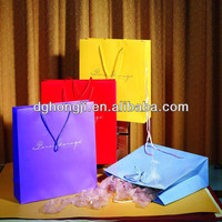 paper bag with bow tie ribbon