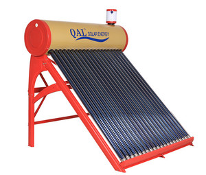 QAL 100L Non Pressurized Painted Steel Home Solar Water Heater
