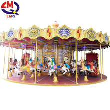 Alibaba fr amusement park outdoor christmas merry go round