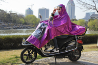 New fashionable riding raincoat poncho, motorcycle and electric bike poncho raincoat