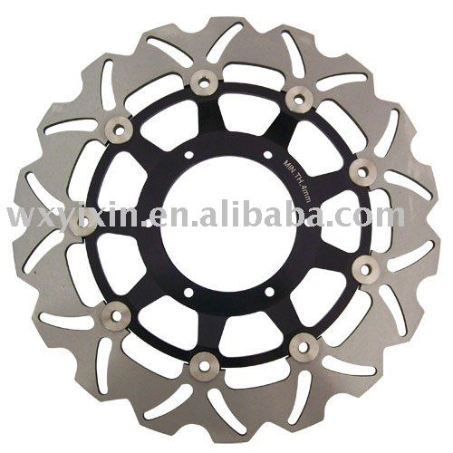 CNC Floating Brake disc rotor for CBR F4 600 2001-2006