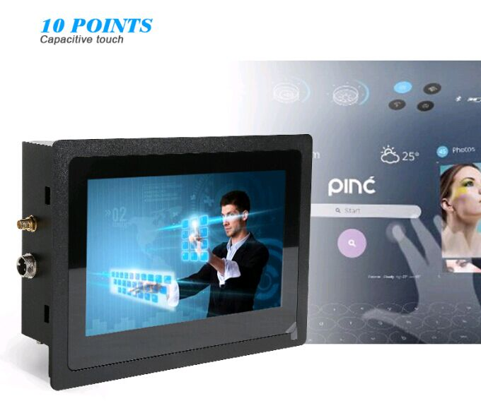 "7"" 10points capacitive touch industrie computer pc embedded systeme for Automation, Medical Device/Healthcare, Transportation"
