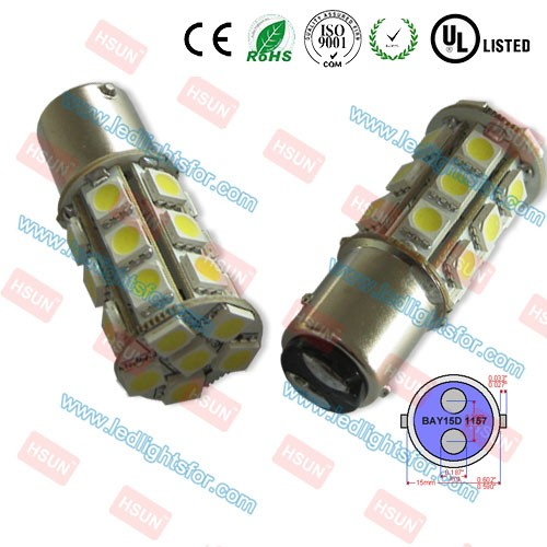 High quality smd5050 1157 led light bay15d p21/5w car led bulb p21w ba15s bau15s xenon white 7440 7443 3156 3157 tail bulb auto
