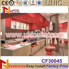 2014 Summer yohurt interior store design frozen yogurt kiosk design welcome your brand