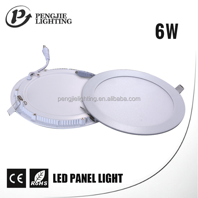 6w household indoor round ceiling led light panel ceiling for kitchen