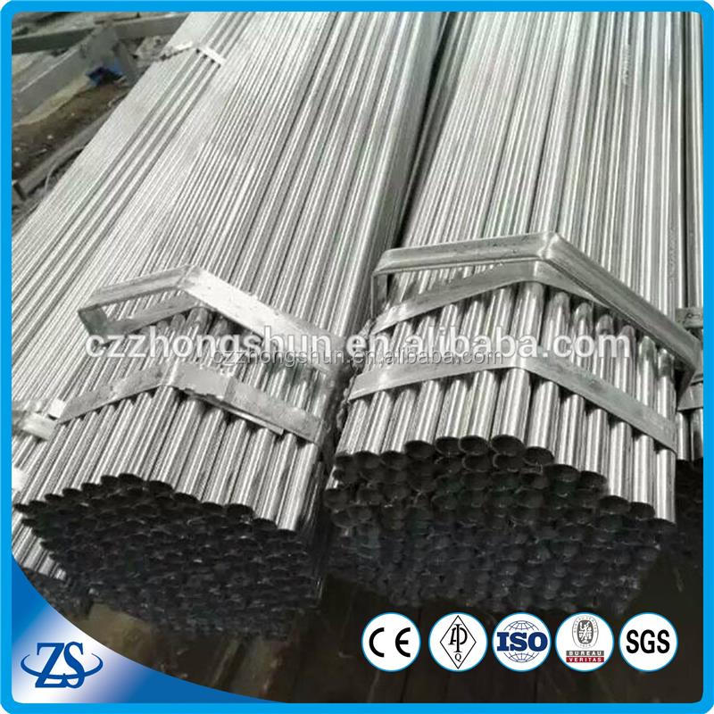 scaffolding pipe specification for balcony railing