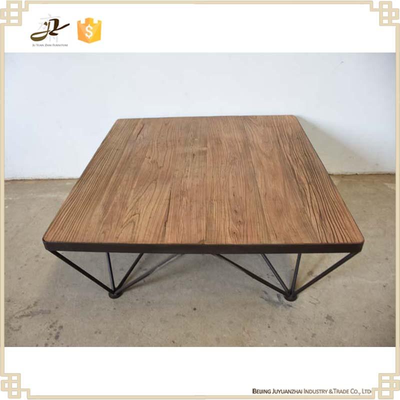 vintage industrial furniture living room reclaimed wood cofee tables