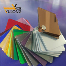 Directly sale gold mirror acrylic sheet for CNC routering