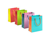 New Model Colored mini trolley shopping bags with different size