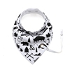 Private label New style cheap triangle baby bandana drool bibs with pacifier clip