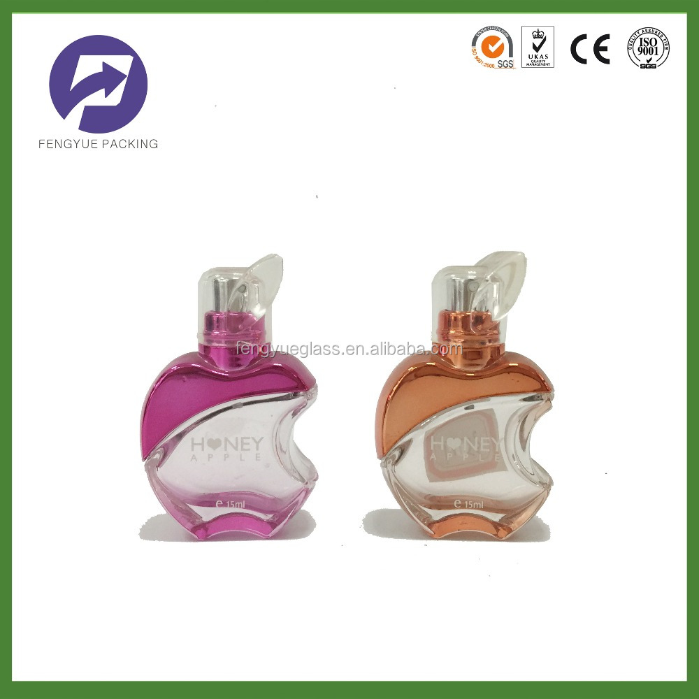 20ml apple shape glass perfume bottle wholesale