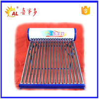 rooftop unpressurized type good quality 18tube solar collector