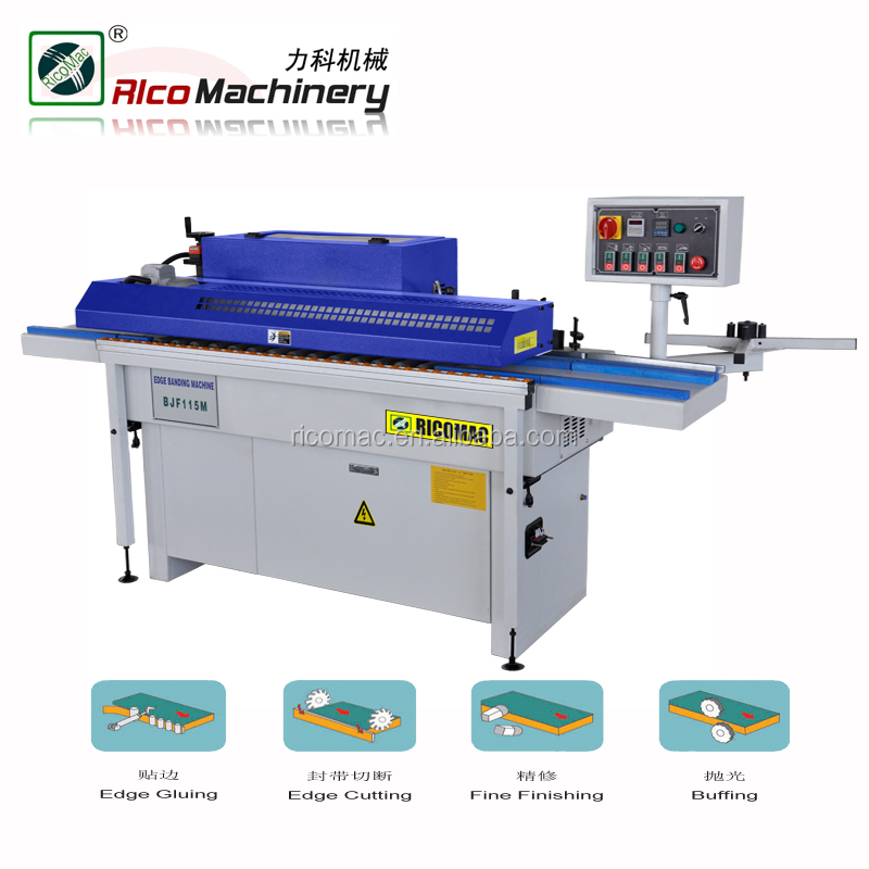 New design BJF115M woodworking PVC edge banding machine