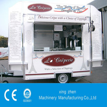 The best selling mobile food kiosk catering trailer with CE