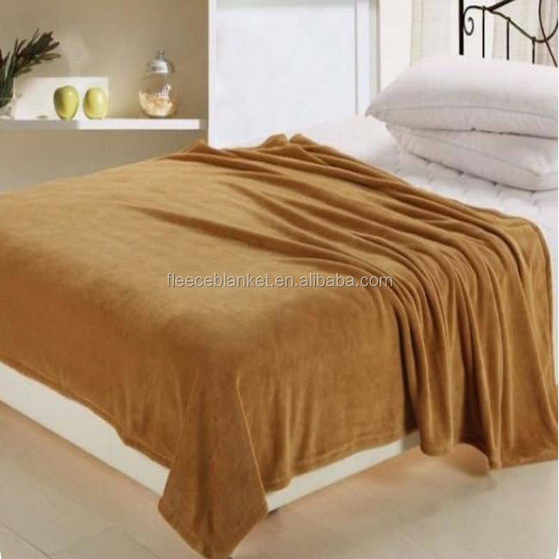 100% polyester coral fleece blanket wholesale