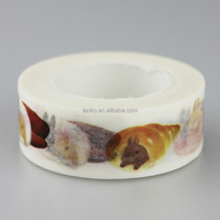 Waterproof Antistatic Feature and gift and decoration, Masking Use decorating washi paper tape