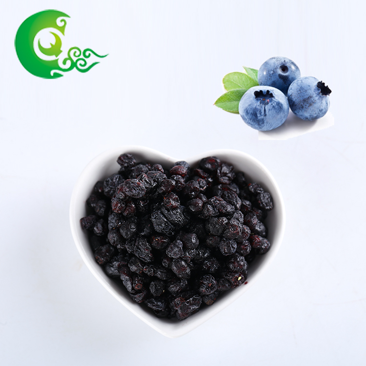Organic healthy fruit freeze dried blueberry