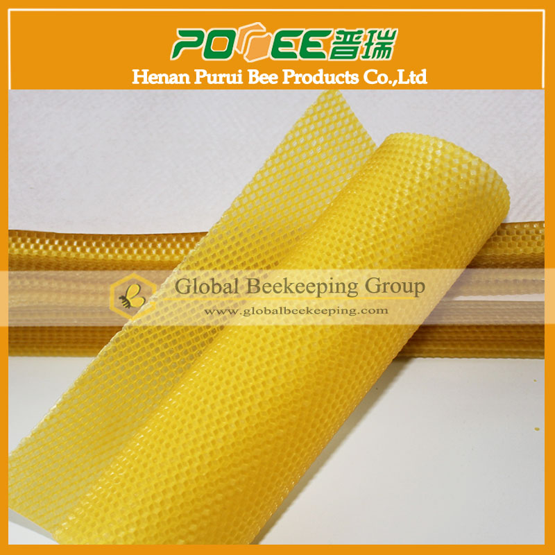 For beekeeper plastic beeswax foundation wholesale