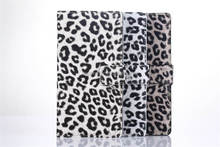 Leopard wallet case for Sony Xperia Z2,for sony xperia z2 case
