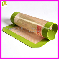 Dongguan Non Stick Silicone Baking Mat For Any Size Pan 42x29.5CM for oven sheet
