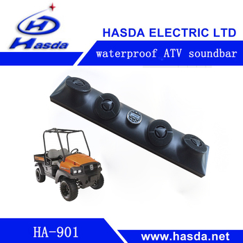 waterproof UTV soundbar Source Unit