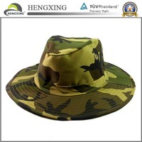 High Quality Custom Fishing Men Bucket Hat With String
