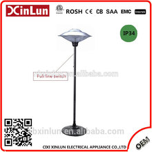Cixi Manufacturer Beautiful Simple Design Quality mica outdoor patio heater