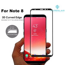 Mobile Screen Guard Temptered glass for Note 8 Screen Protector