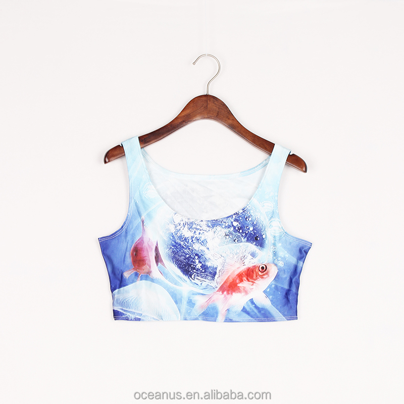 Sublimation printed crop tops online india forever 21