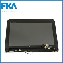Good quality W4X1R Laptop LCD Assembly Screen Display with Hinges For Dell Inspiron Mini 10 (1010)