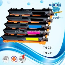 Compatible color toner cartridge TN221 TN251 TN241 DCP-9020CDN/MFC-9140CDN/MFC-9340CDW/ HL-3150CDN/HL-3170CDW