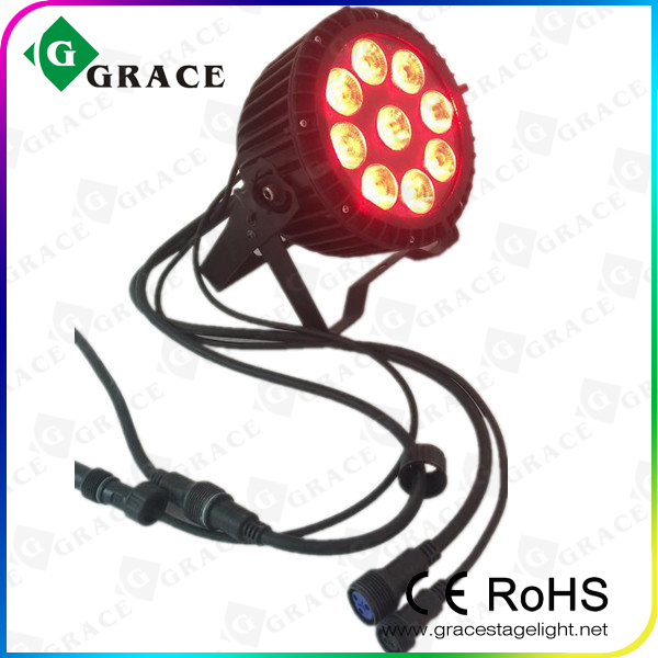 9*18W rgbwa+uv led par 6in1