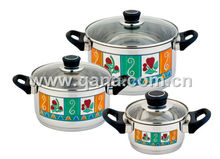 Hot sell German style flower cookware set