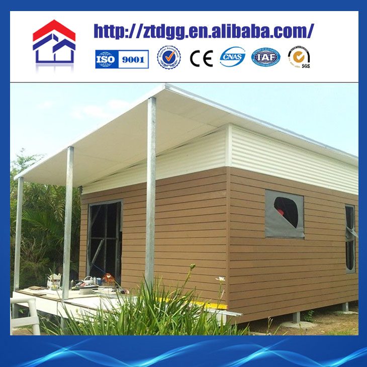 European design low cost prefab kit house room from China manufacturer