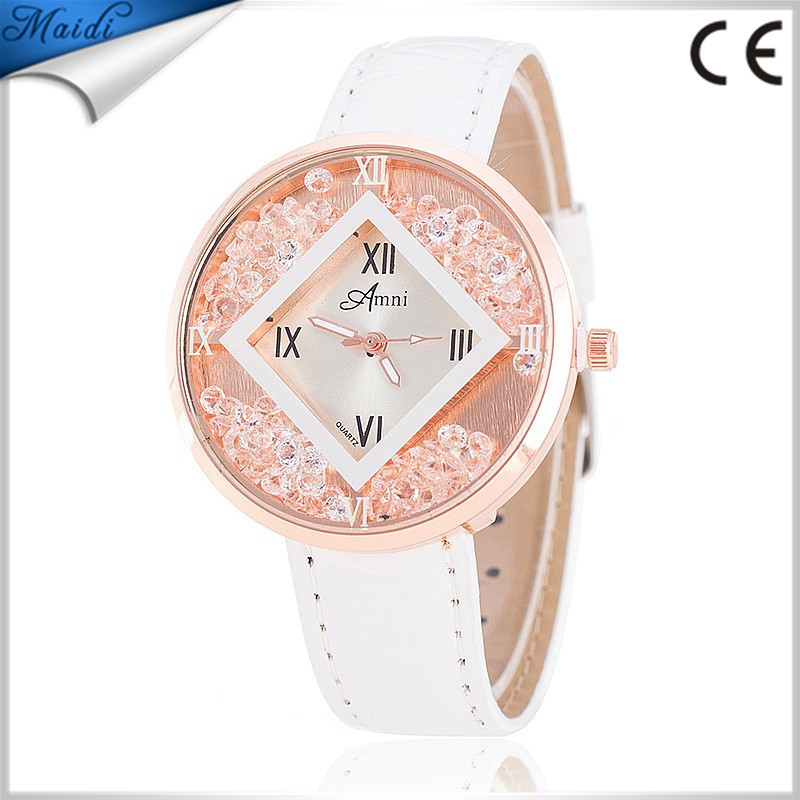 Ladies Relogio Feminino Luxury Brand Women Dress Watches Leather Quartz Watch Diamonds Gold Watches For Womans Waches LW033
