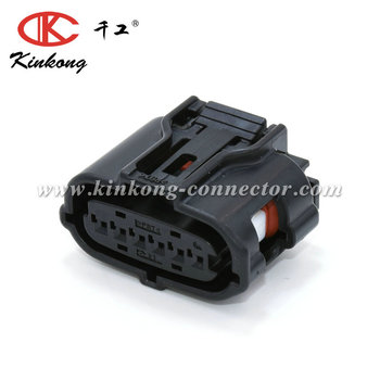 6 Way Female Accelerator Pedal Sensor Automotive Sumitomo Connector 6189-1083 For Toyota