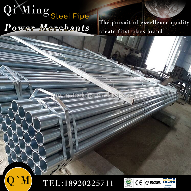 Galvanized pipe manufacturer/gi iron steel pipe for irrigation/gi water pipe manufacturer