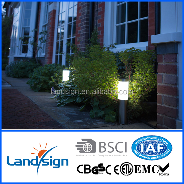 XLTD-259 Hot solar light product BSCI approved china supplier led design lights stainless steel led bollard light