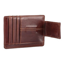 2017 New Fashion Pattern Leather Men Wallets Simple Style Purse With Card Holders Money Bag For Male