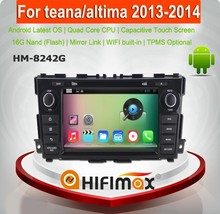 Hifimax Android5.1 navigation for Nissan Teana car dvd car radio indash dvd oem gps for nissan teana auto radio