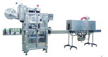 XT-250 Plastic bottle automatic sleeve shrink labeling equipment/machine SPC series
