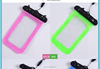 waterproof phone bag case size for Samsung iPhone PVC waterproof phone bag With lanyard