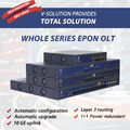 1U 19 Inch Whole Series EPON OLT with 2 4 8 PON Ports High Performance WEB CLI EMS Management GEPON Optical Line Terminal