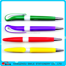 Simple Design Logo Customized Corporate Spring Metal Ball Pen