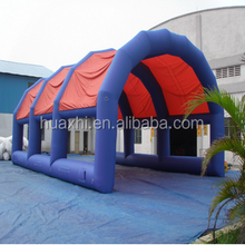 Strong pvc air tight inflatable air tent in ce14960, Inflatable arched tent for sale