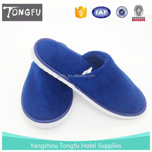 High Quality China supplier Custom amenities disposable hotel slippers