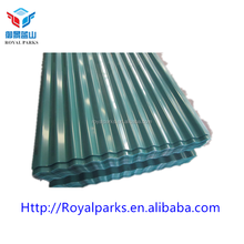 High quality Galvanized Corrugated roofing sheet wave tile color metal roof tile